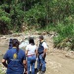 Image for the Tweet beginning: Gobernación realizó visita técnica al