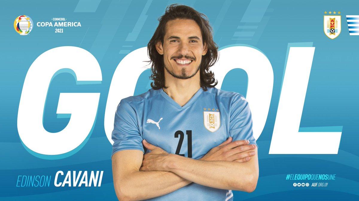 RT @Uruguay: ⚽️ 78´ ¡Gol de @Uruguay! @ECavaniOfficial   @laverde_fbf 0-2 @Uruguay   #ElEquipoQueNosUne https://t.co/l8CDmoMvH4