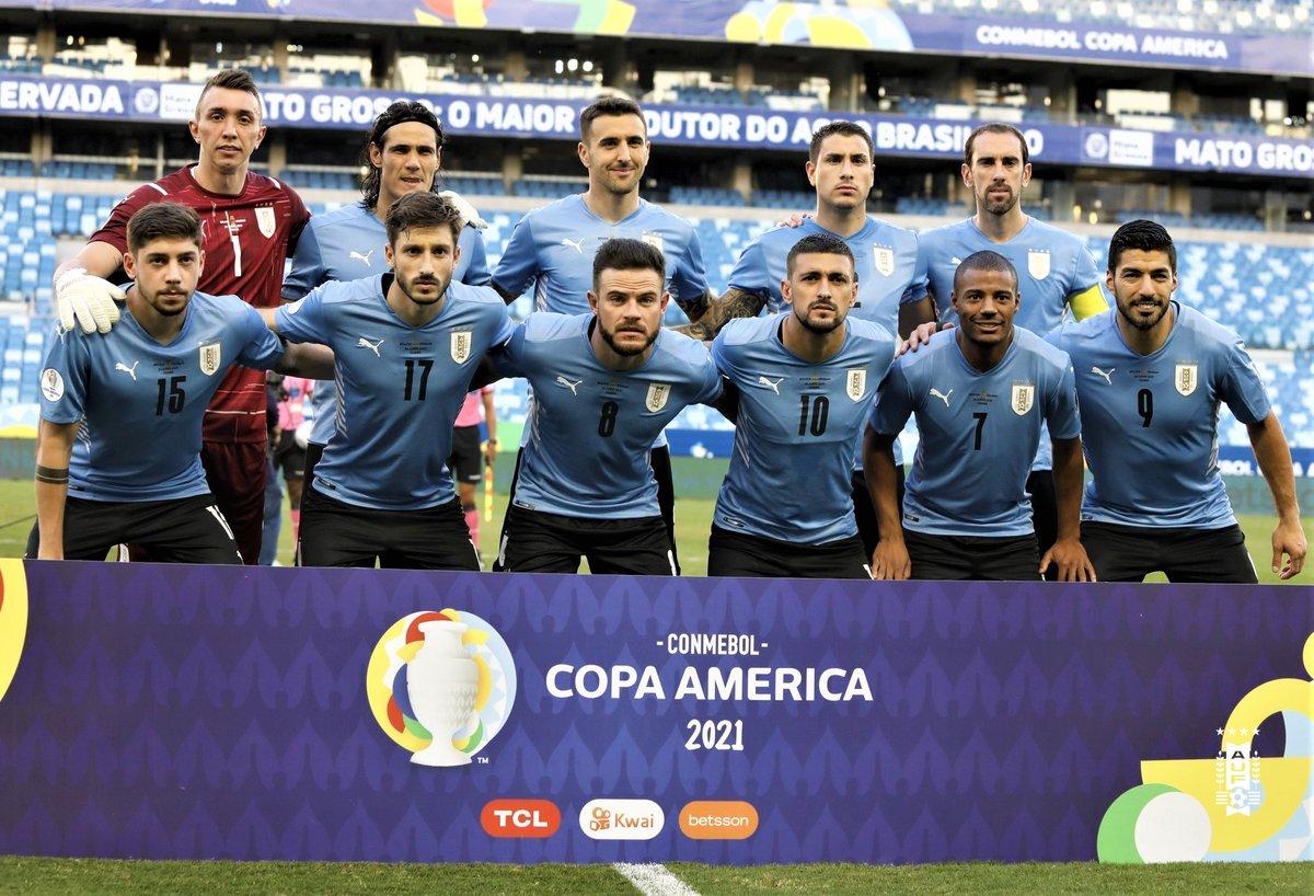 RT @Uruguay: ⏳ ❌ Final del partido en el estadio Arena Pantanal de Cuiabá.  @laverde_fbf 0-2 @Uruguay   #CopaAmérica https://t.co/EVjtwU9COn