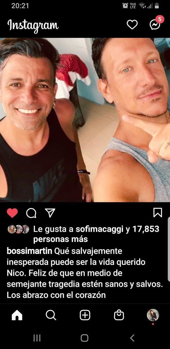 RT @marcelapgodoy: El posteo en Instagram de @martinbossi para su amigo @vazqueznico celebrando la vida! https://t.co/2wdHXzcQTp