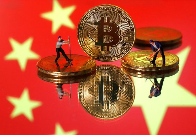 Chinas ban forces some bitcoin miners to flee overseas, others sell out Photo
