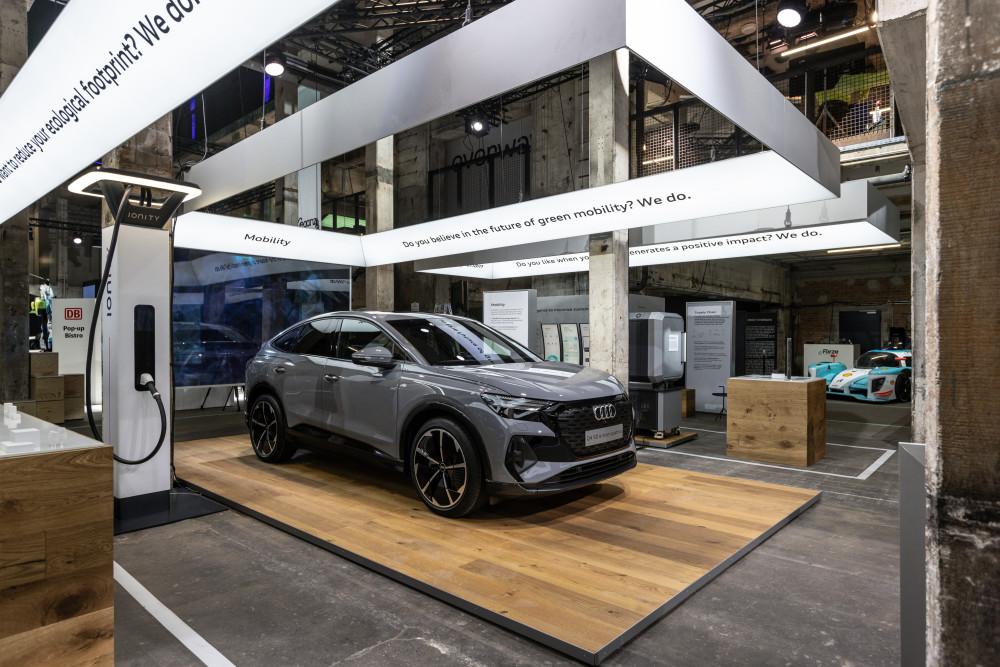 Audi viser klima-fokus hele vejen rundt om produktet på GREENTECH FESTIVAL https://t.co/Lhq4WQSHga https://t.co/VwKDtOMmae