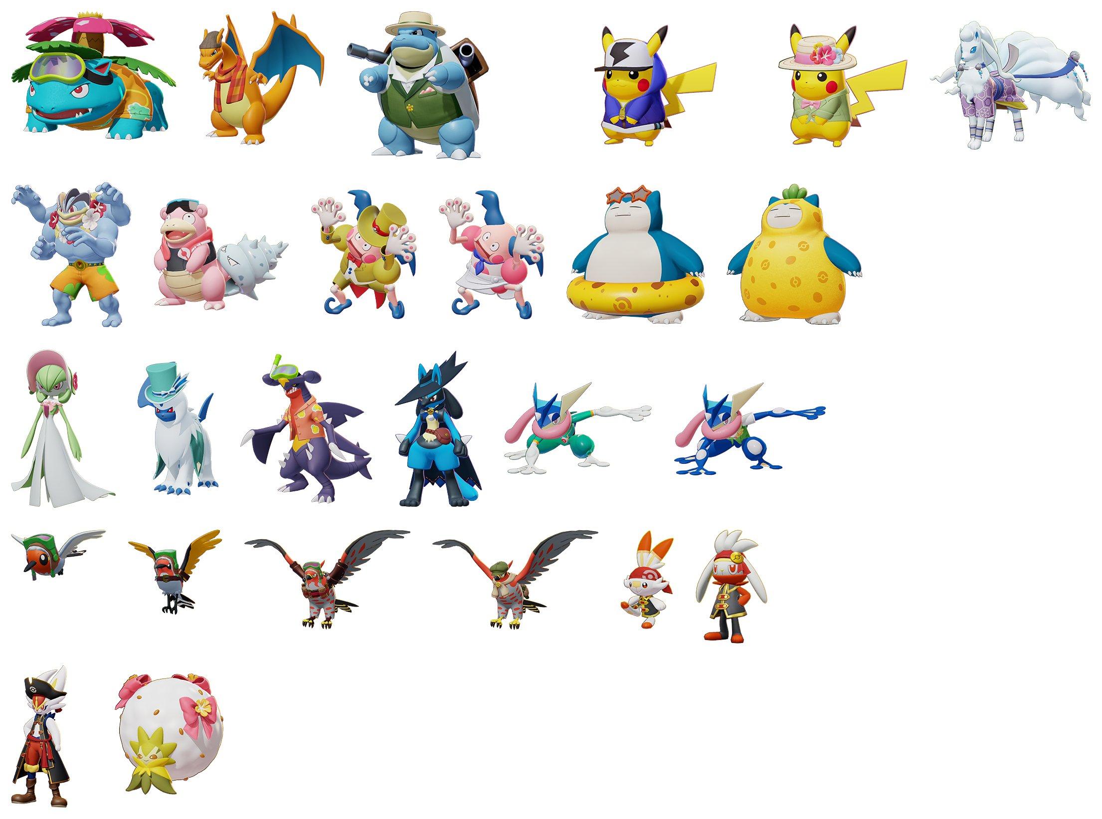 Centro Leaks On Twitter More Pokemon Unite Skins Via Datamine Twitter