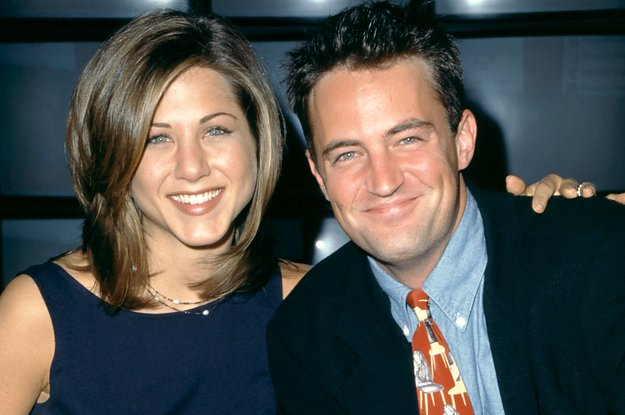 Jennifer Aniston Says She Didnt Know About The Self Torture Matthew Perry Put Himself Through While Filming Friends Photo
