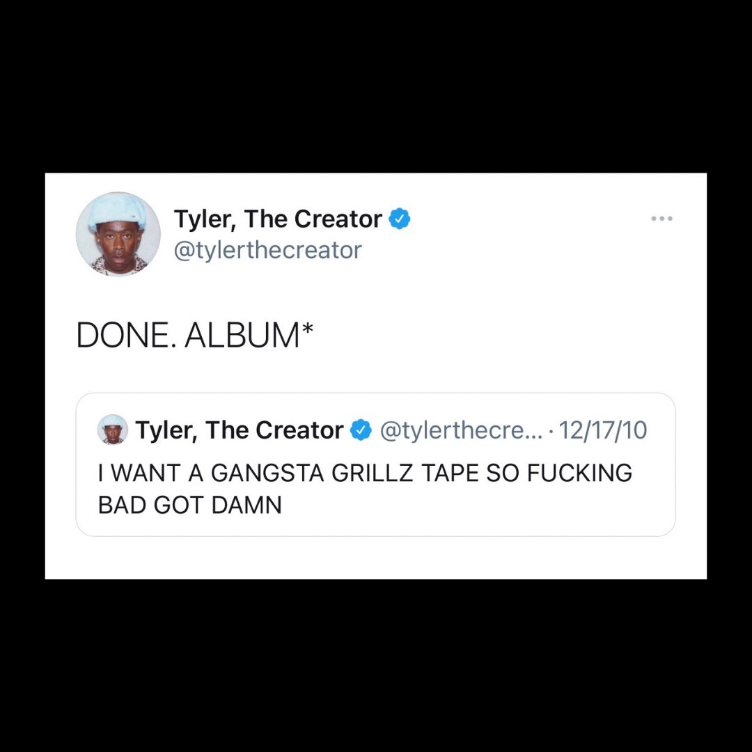 """No Jumper on Twitter: """"#tylerthecreator speaks on working with #DJDrama for his new album 👀… """""""