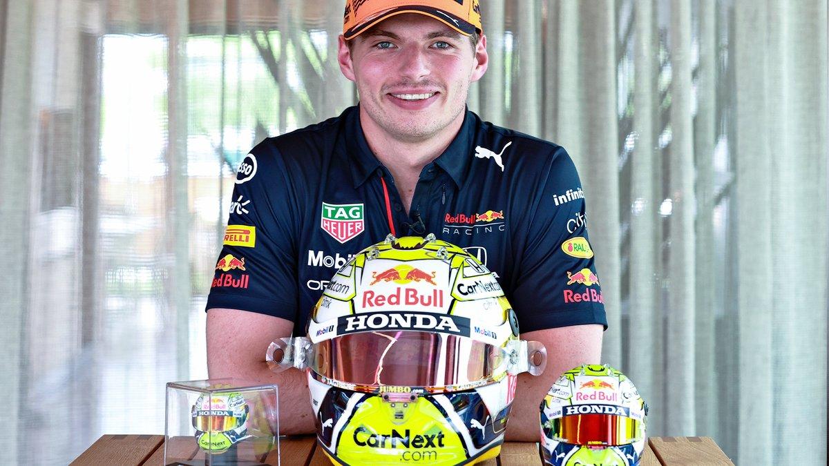 Image for the Tweet beginning: Home Grand Prix 👉 Helmet