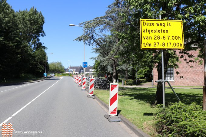 Gedeeltelijke wegafsluiting bij de Dijkweg https://t.co/OqTg6St1qT https://t.co/rIfPgZrLB4