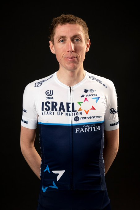 Dan Martin aiming to deliver maiden Tour stage win for Israel Start-Up Nation Photo