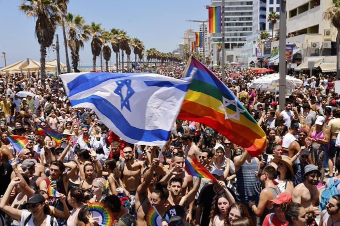 Tens of thousands attend Pride parade in Israels Tel Aviv Photo