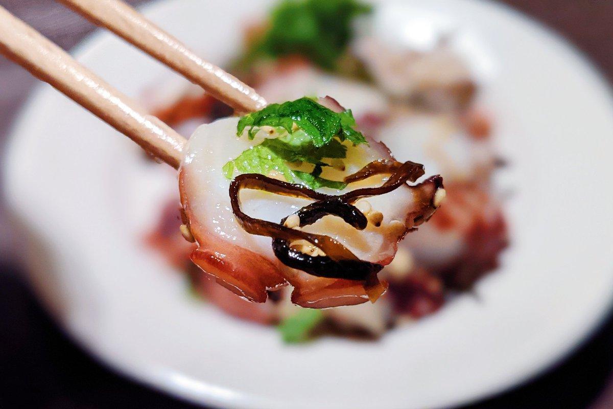 「タコ」×「塩昆布」の組み合わせがよく合いそう!お家で居酒屋気分を味わいたいときにおすすめのレシピ!
