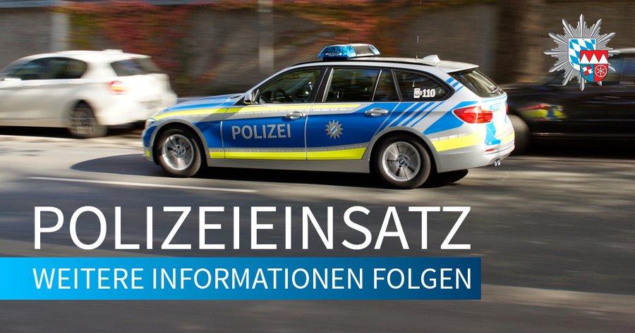 Image Polizei Wagen Im Einsatz
