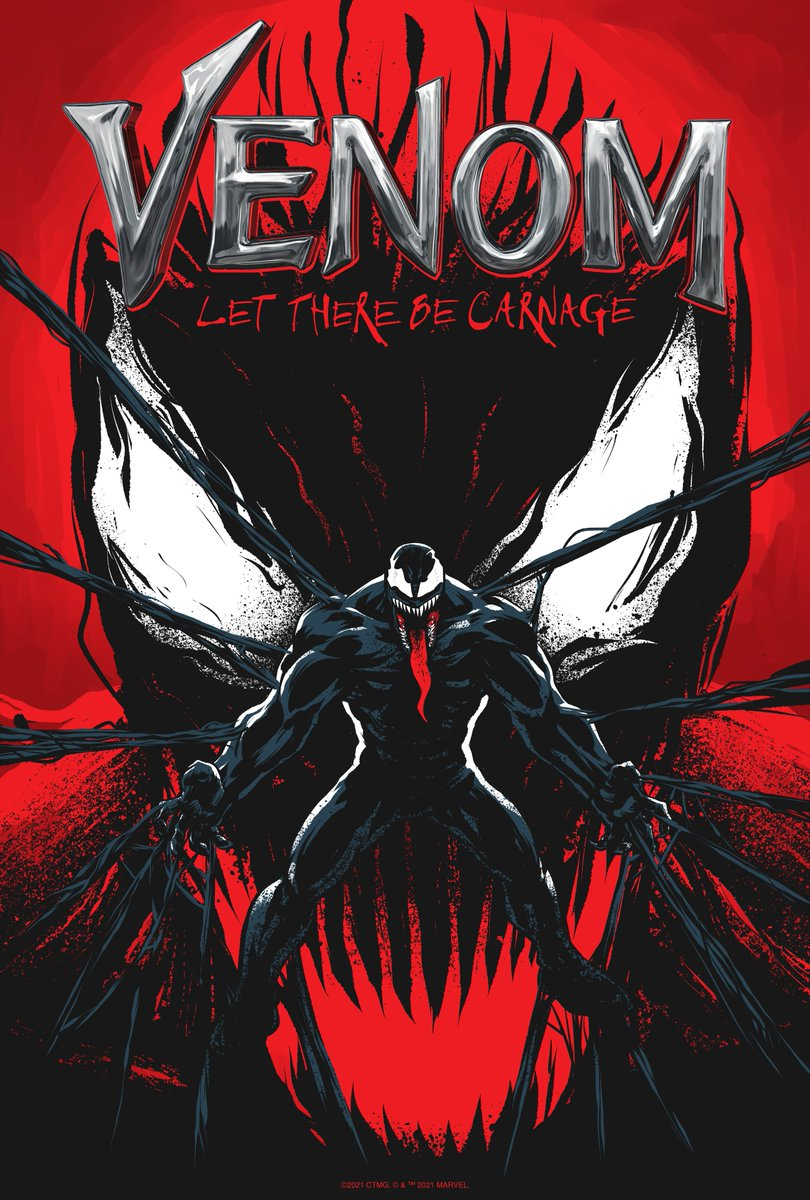 Only ONE week left in our #Venom: Let There Be Carnage fan art contest. Check out these pieces and submit your art to @Talenthouse by July 2! https://t.co/O5lahDnbJT https://t.co/Xcwoyuwlr2