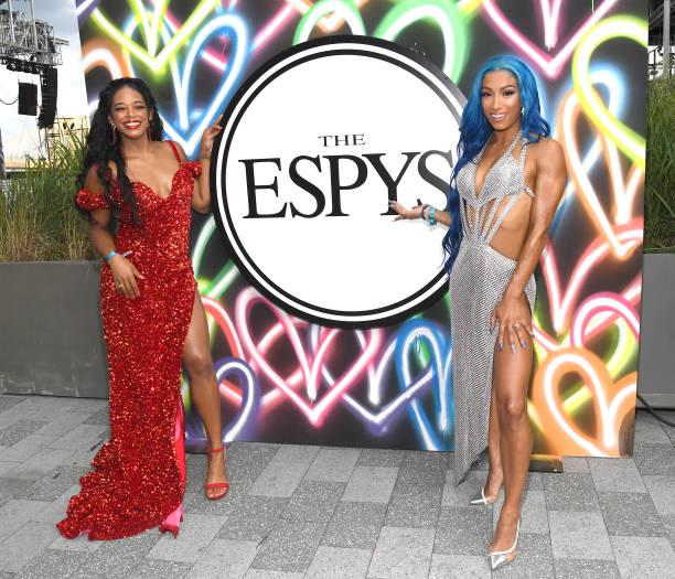 Sasha Banks And Bianca Belair Win Best WWE Moment Award At ESPYs 2021 19