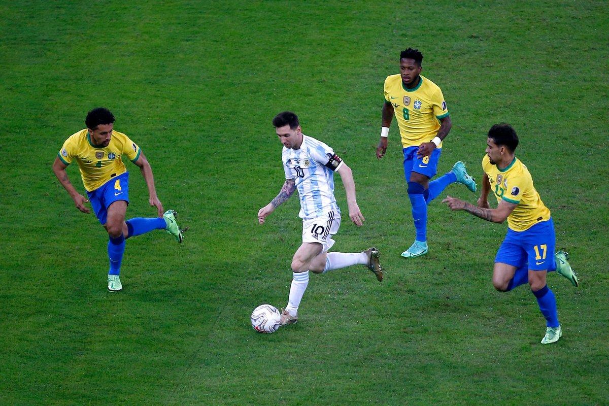 رسميا الأرجنتين بطلا لكوبا أمريكا على حساب البرازيل وميسي يحصد اول لقب مع المنتخب