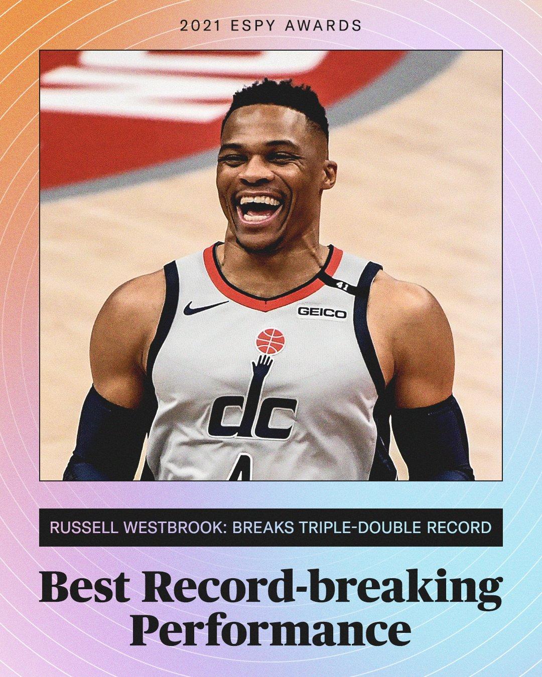 Russell win ESPYS award