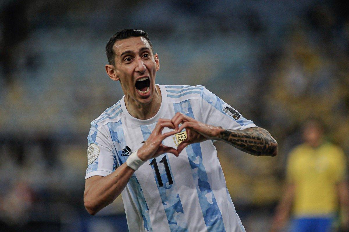 Messi và các đồng đội ĐT Argentina giành ngôi vô địch Copa America 2021 - 2