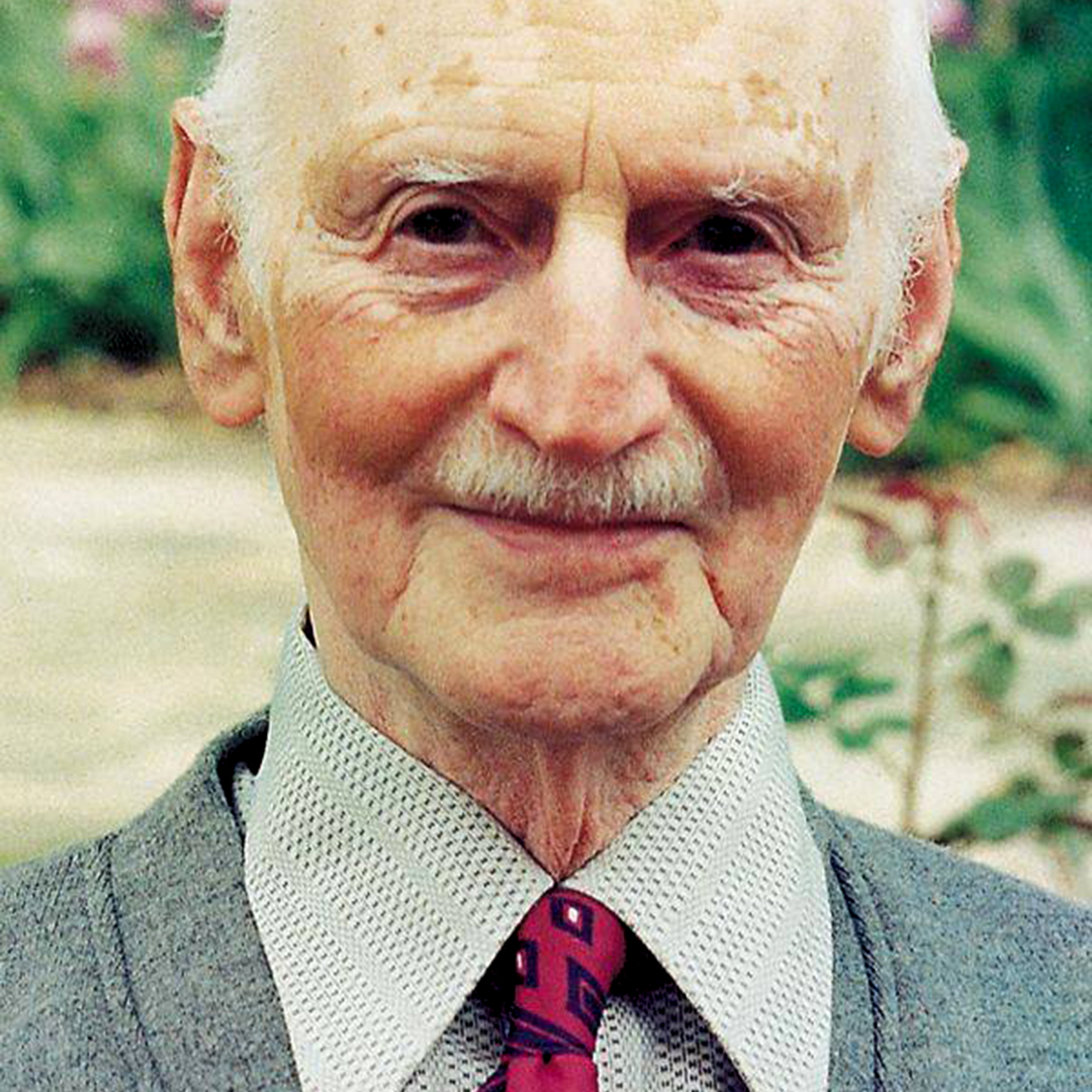 Otto Frank, father of Anne Frank