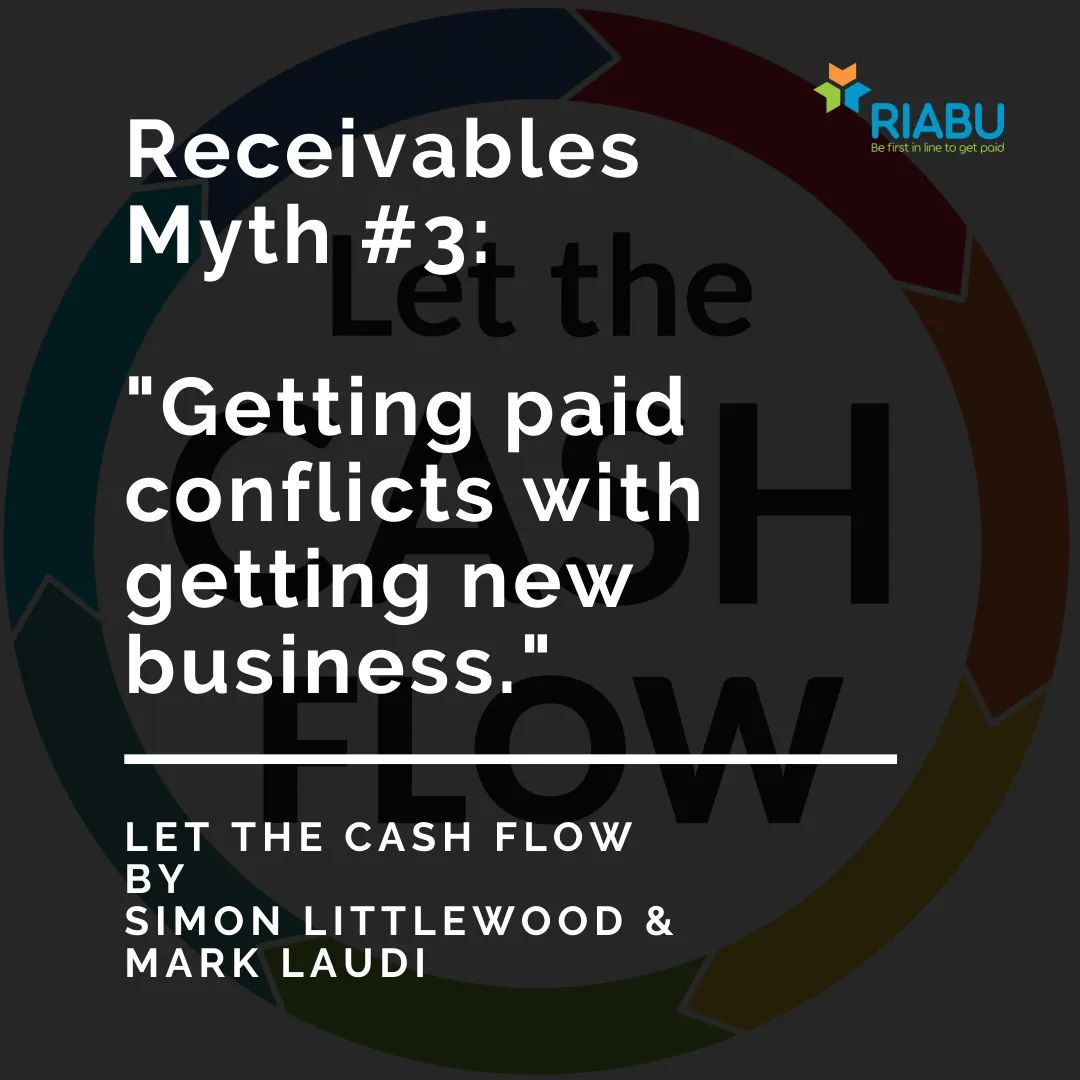 Suppliers may fear that chasing for payment will lose them customers. But is this true?  In Let the Cash Flow, authors @acgsimonsays and @marklaudi elaborate on the close link between prompt payment and happy customers.  Get your copy: https://t.co/oByhMKRhXB. #riabu #payment https://t.co/5hMEglMyPK