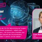 Image for the Tweet beginning: Sven Burkhard ist Managing Director