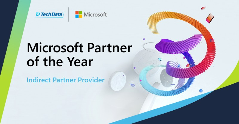 Tech Data has been named the 2021 Microsoft…