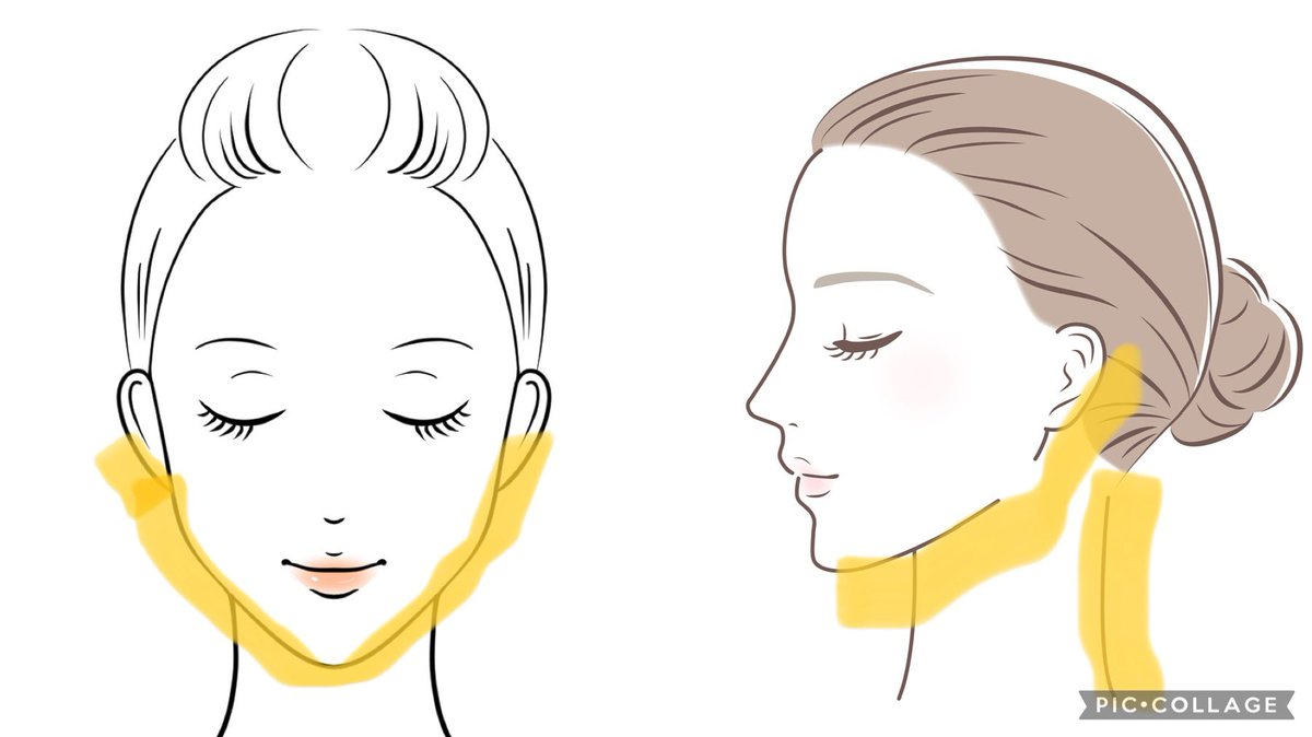 若い時から続けるべし!顎下、フェイスライン、首の後ろにも必ず化粧水を塗るのが大事!