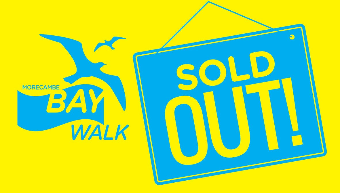 We are delighted to be your main sponsor, and are really looking forward to the walk.