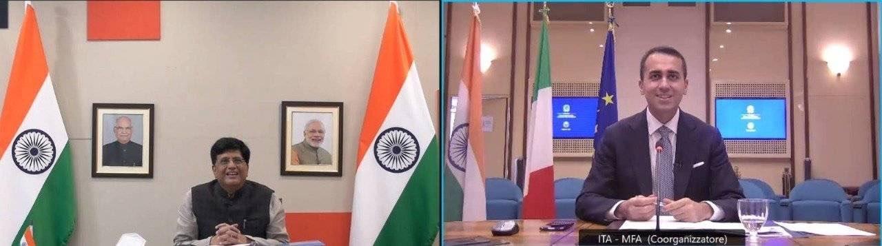 आर्थिक सहयोग के लिए भारत-इटली संयुक्त आयोग की 21वीं बैठक हुई