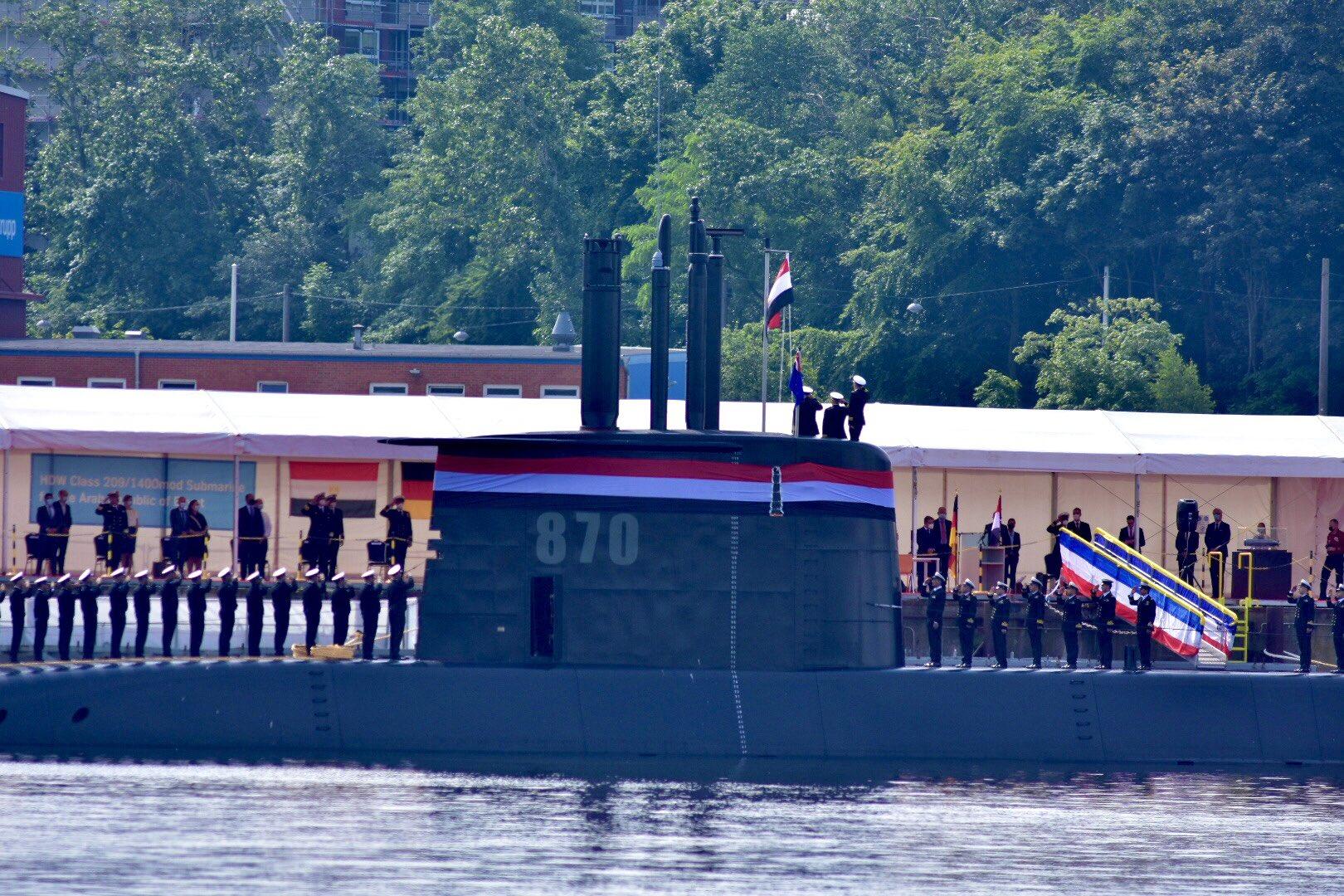 ألمانيا تنتهي من صنع الغواصة الرابعة من فئة تايب 209 الخاصة بالجيش المصري E52h7qtUUAIIwLl?format=jpg&name=large