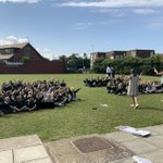 Image for the Tweet beginning: A wonderful outdoor assembly with