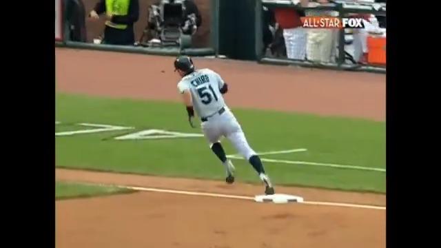Throwback to Ichiro's All-Star Game inside-the-park home run in 2007🏃♂️  (via @MLBONFOX) https://t.co/FMALA2nYcV