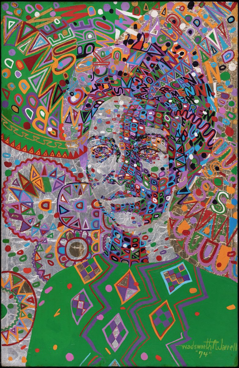 💚Wadsworth Jarrell is a founding member AfriCOBRA, a collective of African American artists formed in Chicago in 1968 as a response to the Civil Rights Movement.⠀  Learn more:⠀ 📗 https://t.co/2DOZc6plwQ  🏛 @DIADetroit  Woman Supreme, WADSWORTH JARRELL⠀ 1974 https://t.co/3zpS2Qoz7D