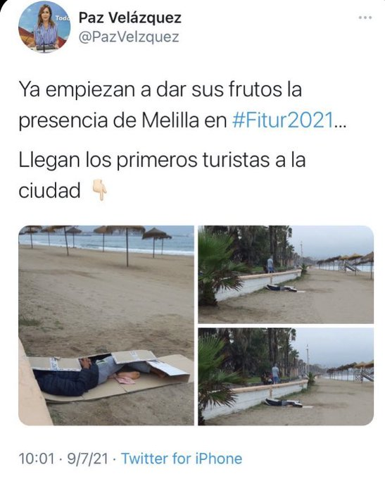Diputada del PP de Melilla