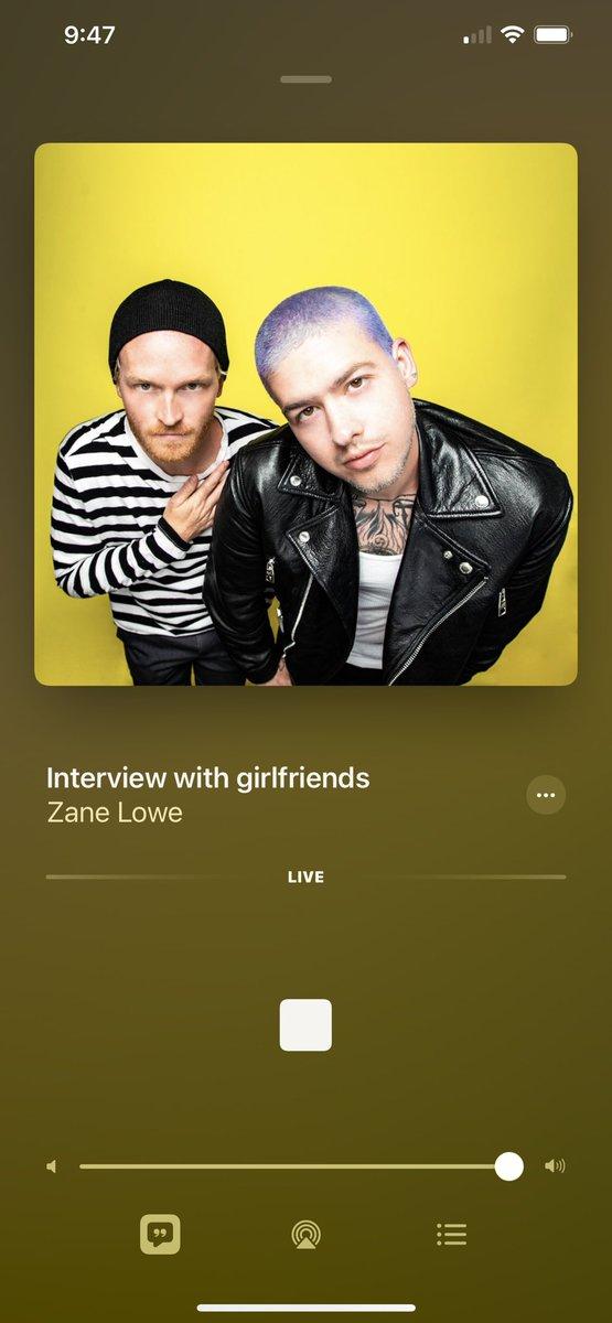 yoooo @girlfriendsxo chatting with @zanelowe RIGHT NOW https://t.co/ruKljmWkQw