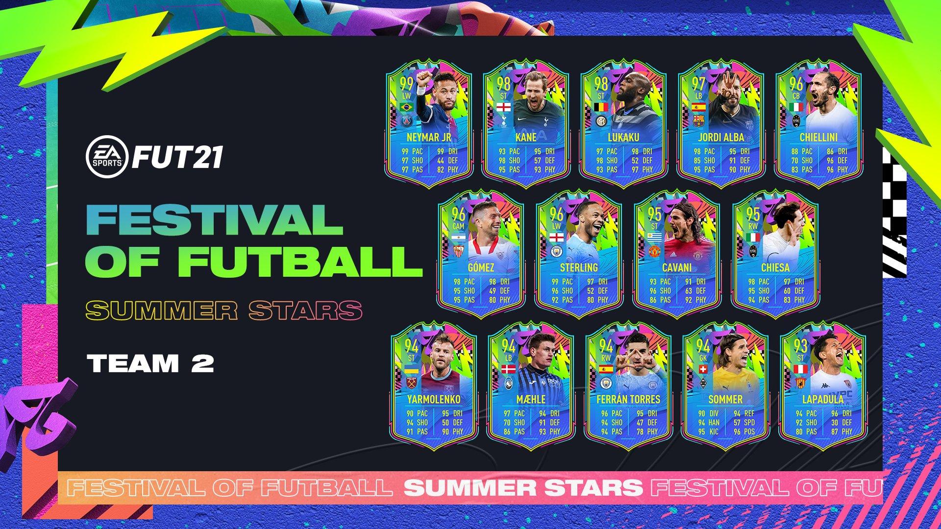 Summer Stars Equipo 2 FIFA 21