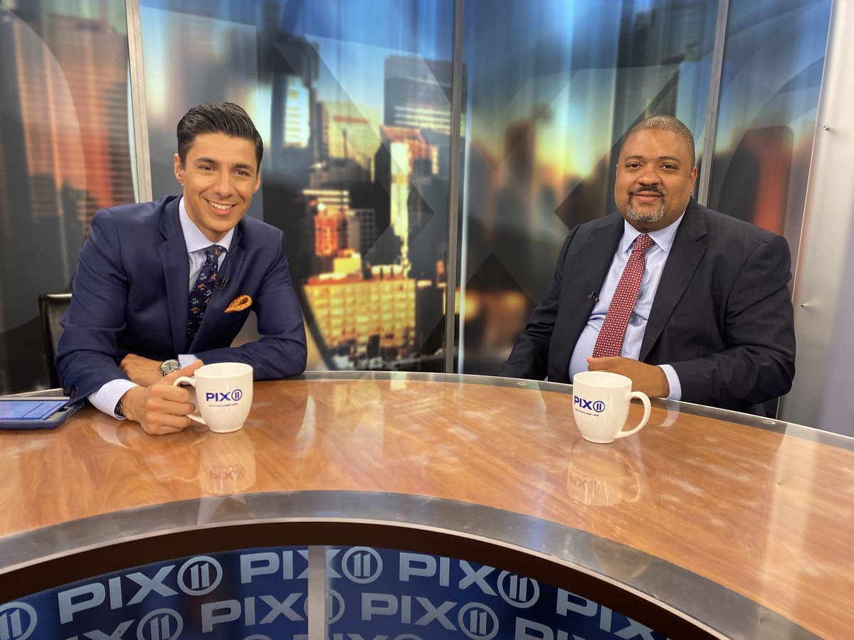 """Tune in Sunday morning as I go """"on the record"""" with @AlvinBraggNYC who is the Democratic nominee for Manhattan DA.  See you on """"PIX on Politics."""" @PIX11News https://t.co/Vr34e6k2qE"""