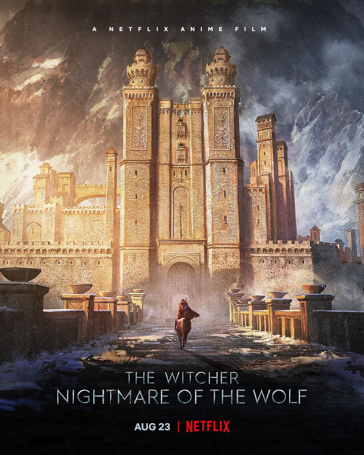 """The Witcher on Twitter: """"Without Vesemir, there'd be no Geralt. Nightmare  of the Wolf premieres August 23 on @netflix. #WitcherCon… """""""