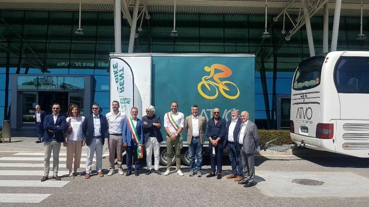 Bike&bus Treviso-Jesolo lungo la Greenway del ...