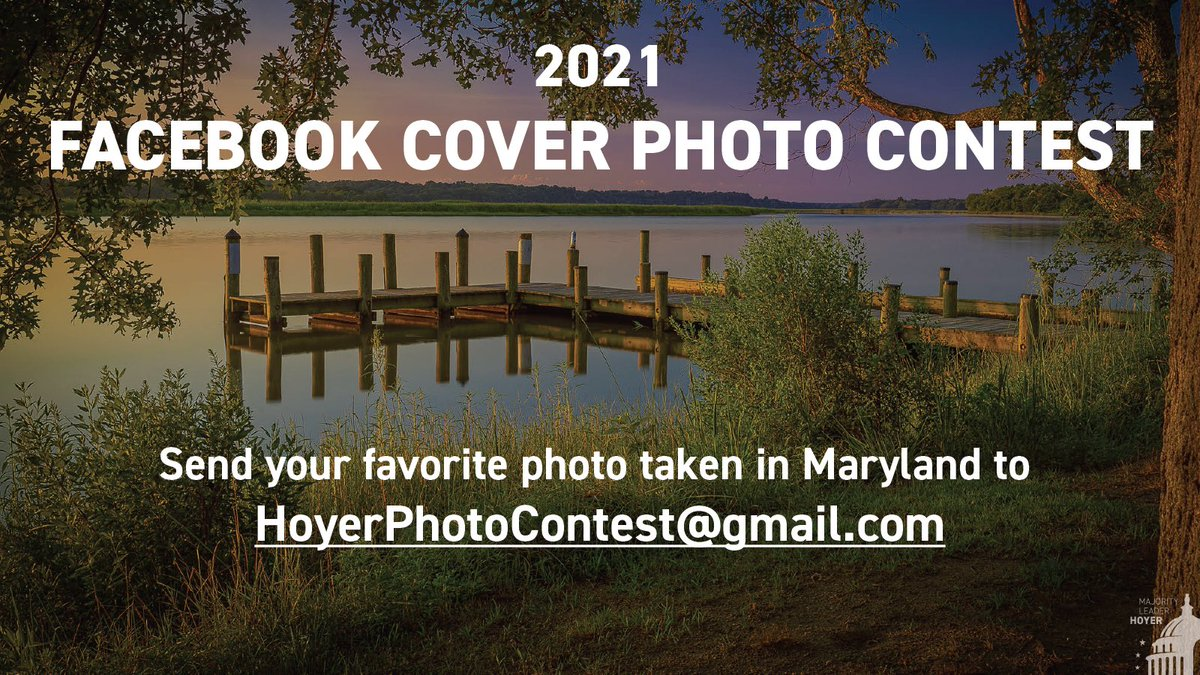 My Facebook Cover Photo Contest ends Saturday! I've already received many great submissions from #MD05, but there's still time to share your photo if you haven't already. Email your photo to hoyerphotocontest@gmail.com today!