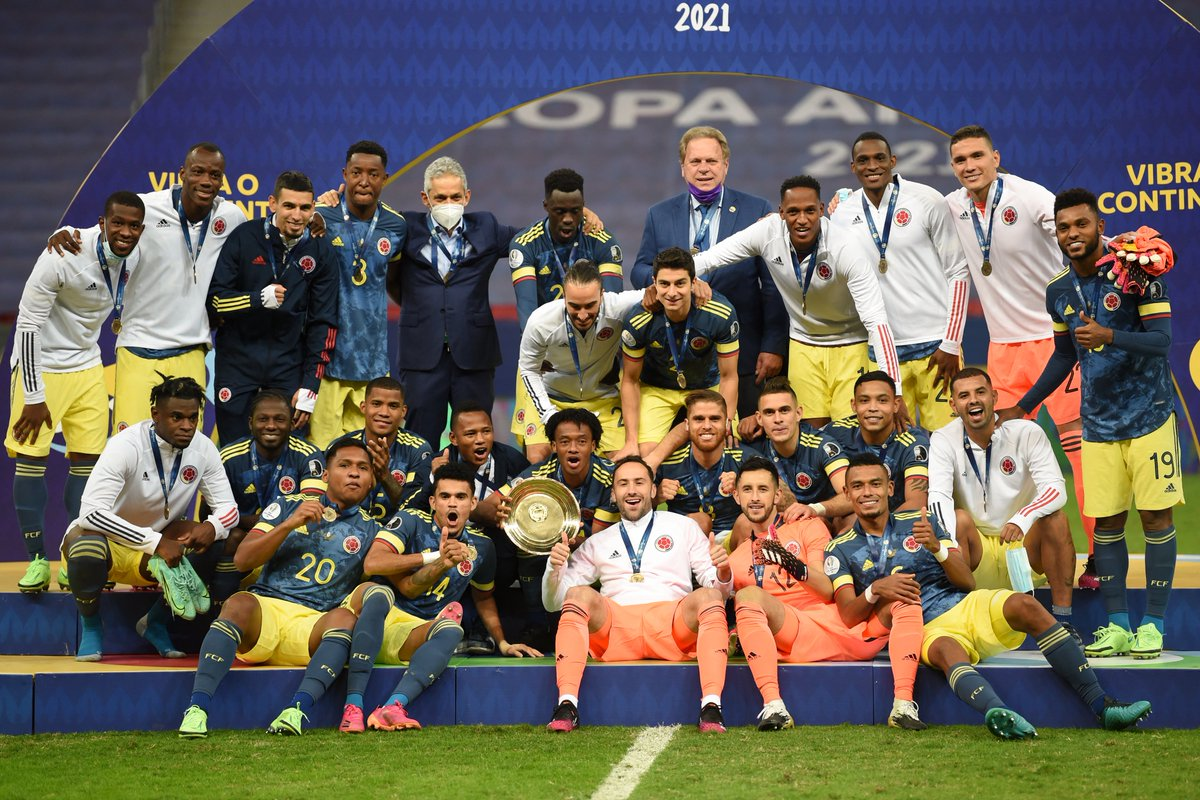 Ngược dòng điên rồ, Colombia giành hạng 3 Copa America