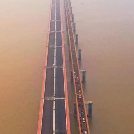 Narmada Maiya bridge in Bharuch to open on Rath Yatra day