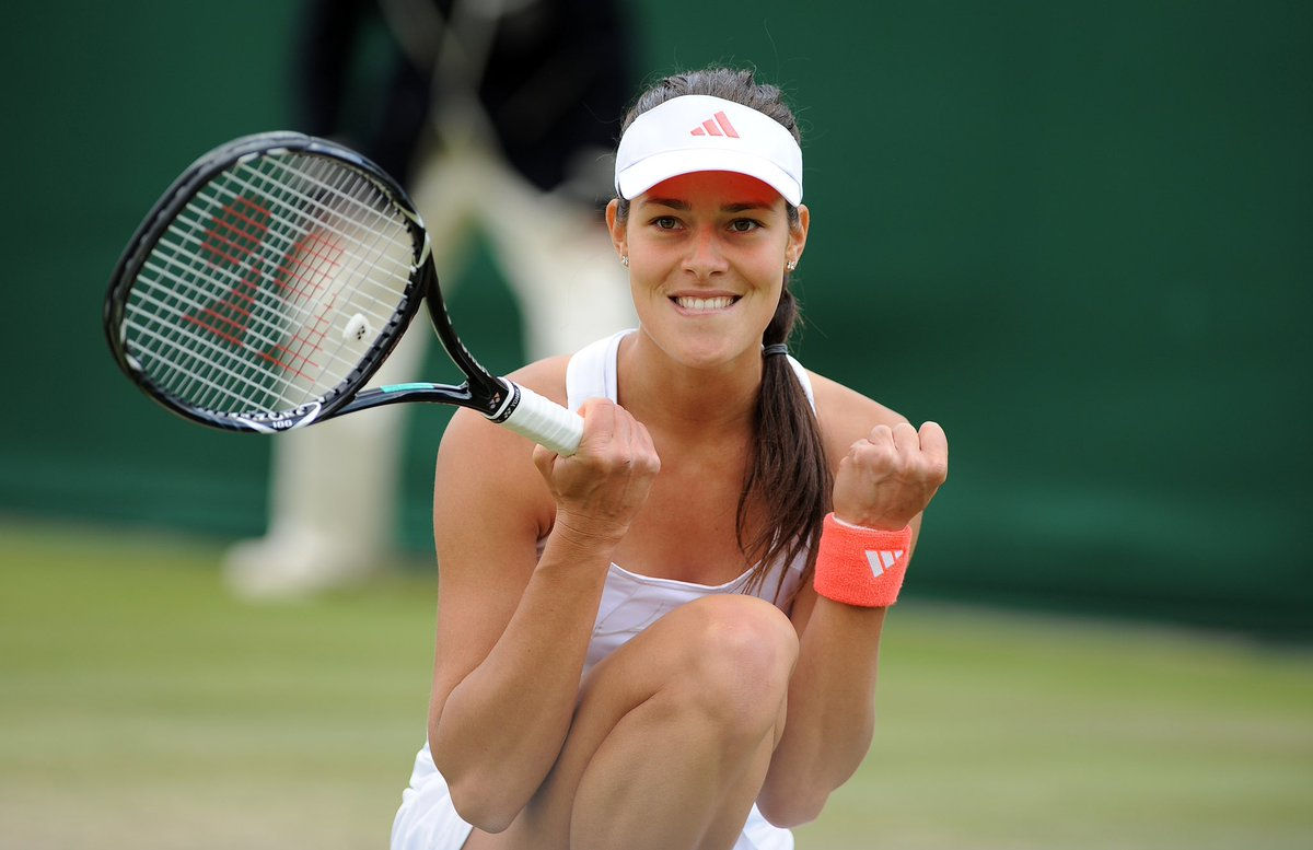 """Ana Ivanovic on Twitter: """"One of the most prestigious tournaments comes to  an end. It was special to play @Wimbledon every single time and now I am  sending luck, focus and success"""