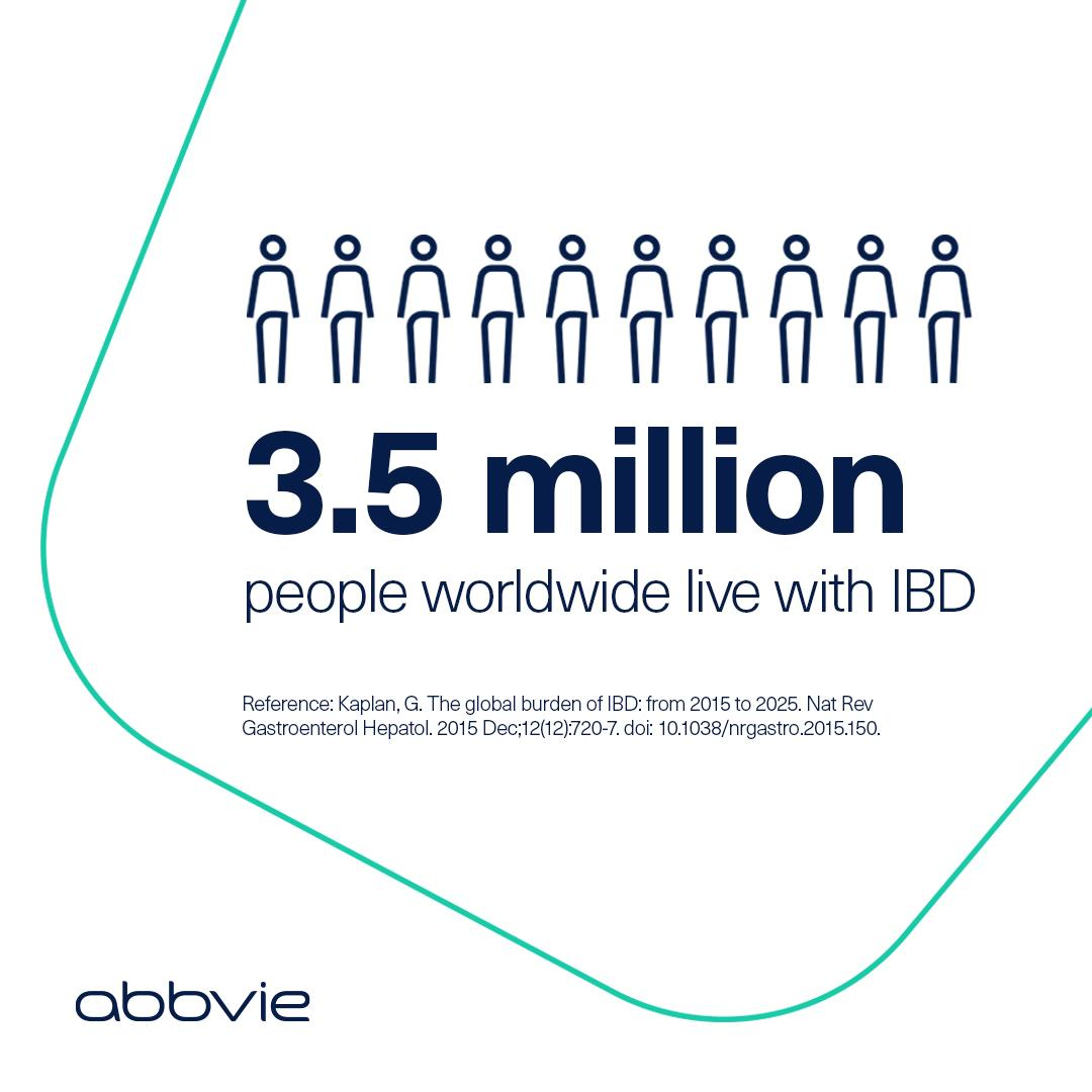 Despite advancements, many patients still suffer from the debilitating symptoms of #IBD. See how we're creating innovative management solutions: https://t.co/cov5w8Rgz7 #ECCO21 https://t.co/x46IP4LAV0