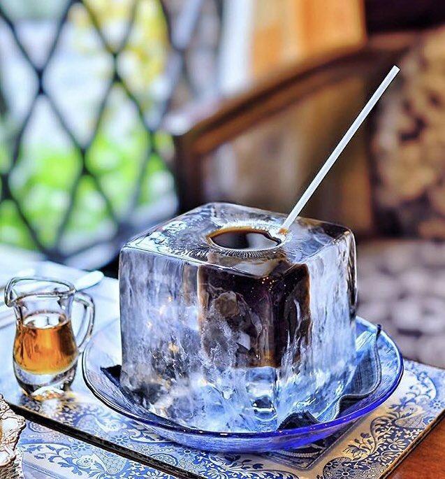 神戸にしむら珈琲店の『氷の器のアイスコーヒー』が話題!北野坂店限定メニューで夏にぴったり!