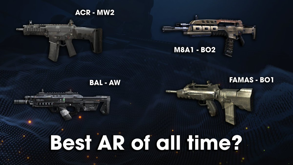 Which AR was the best of all time?