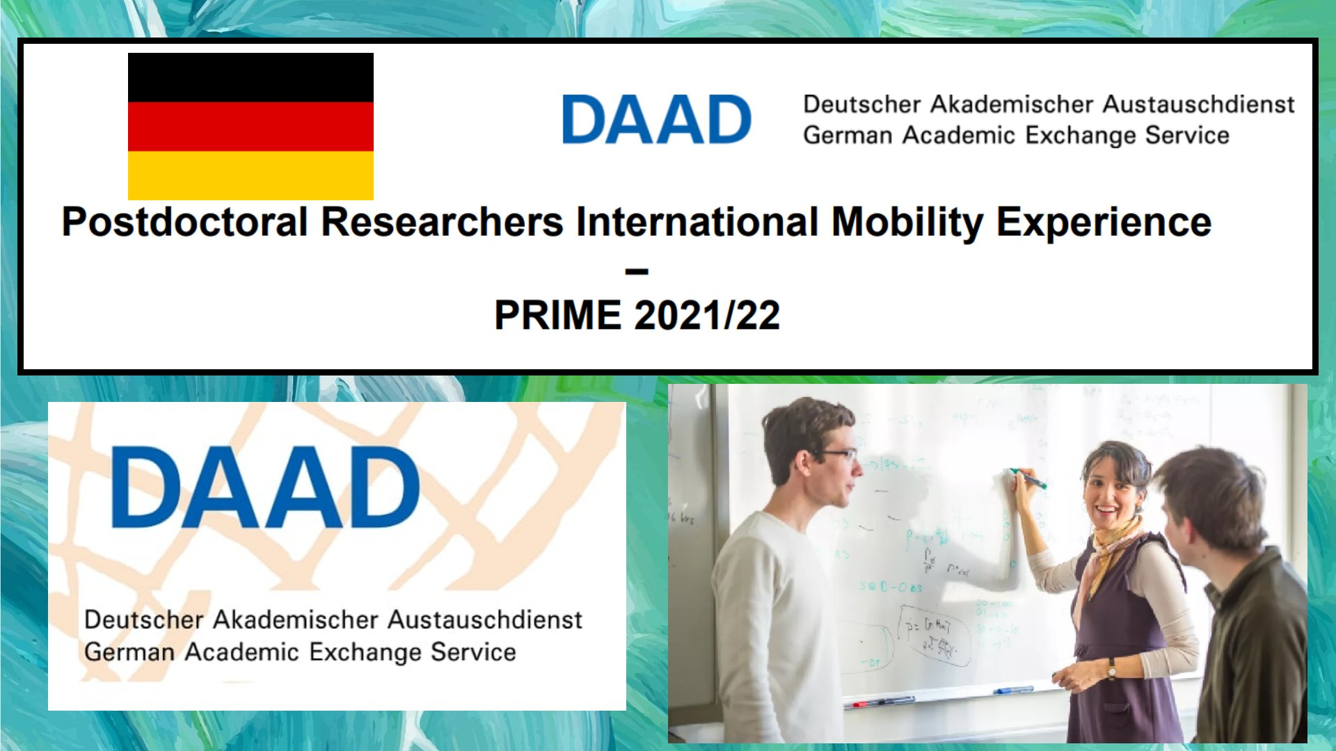Postdoctoral Researchers International Mobility Experience (PRIME) Programme in Germany