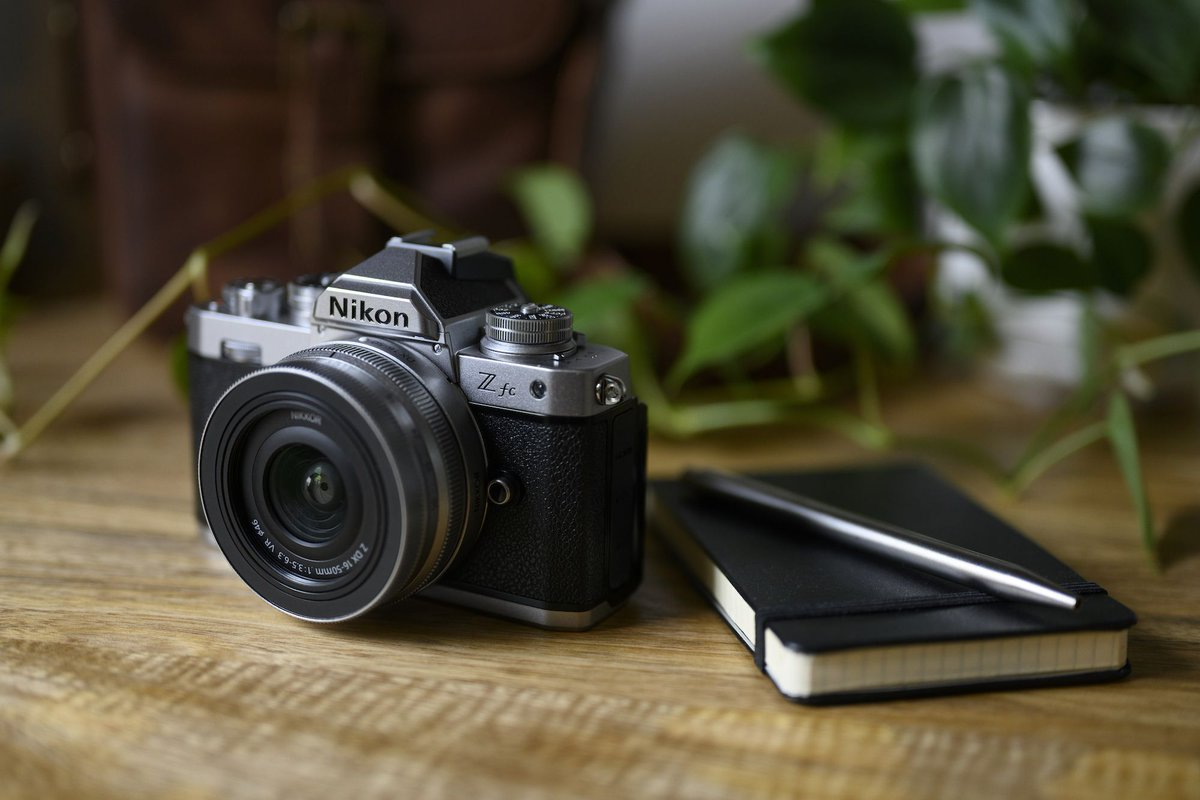 Nikon's Z FC is a film camera revival in mirrorless form