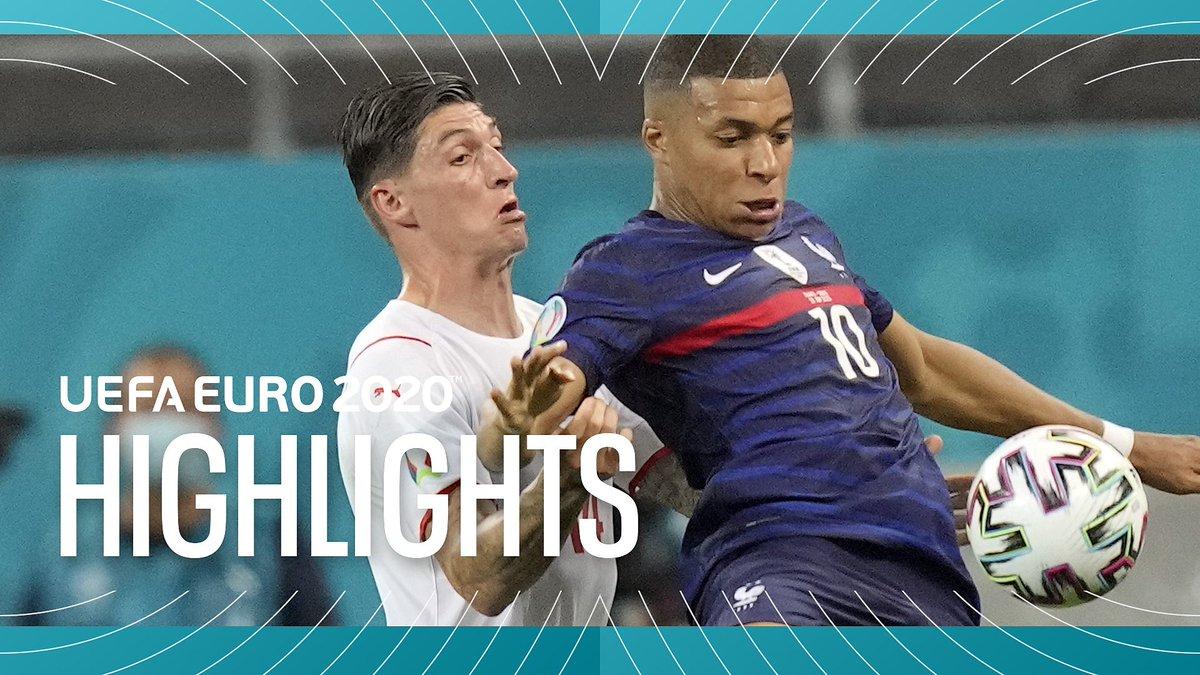 BBC EURO 2020 Highlights - June 28, 2021