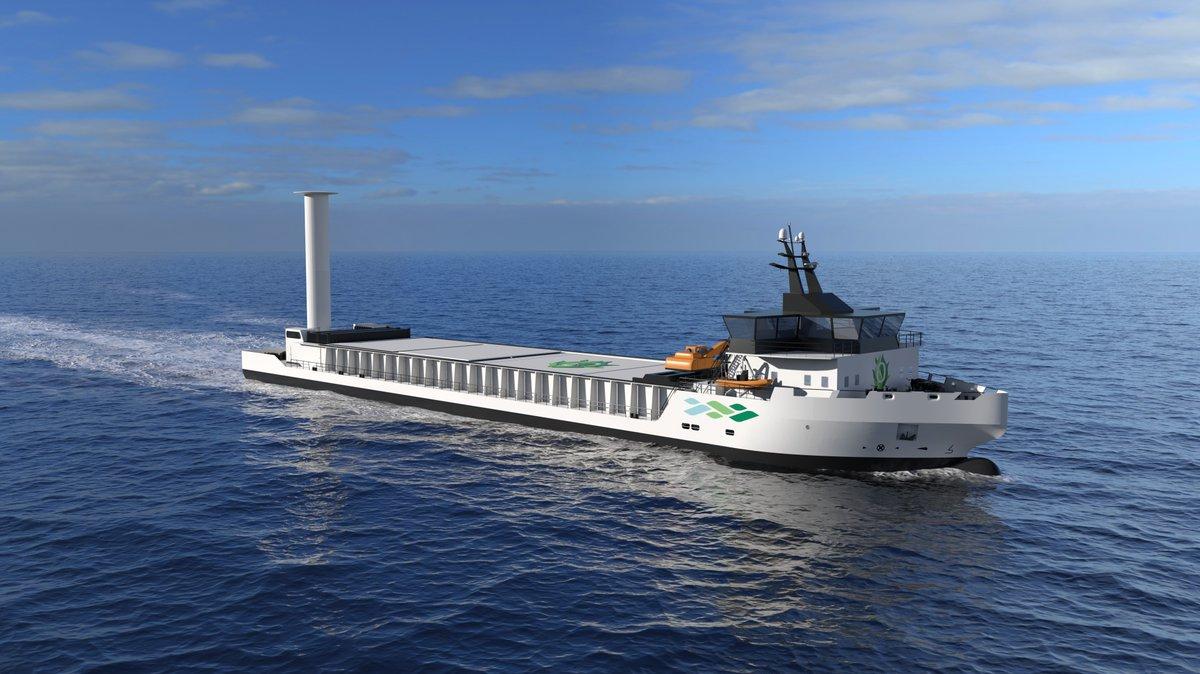 """Enova har laget en websending som forklarer mer om det nye tilbudet """"Forprosjekt hydrogen til maritim transport"""". Se på https://t.co/LDYAGMUOqV https://t.co/sM3hA8oa71"""