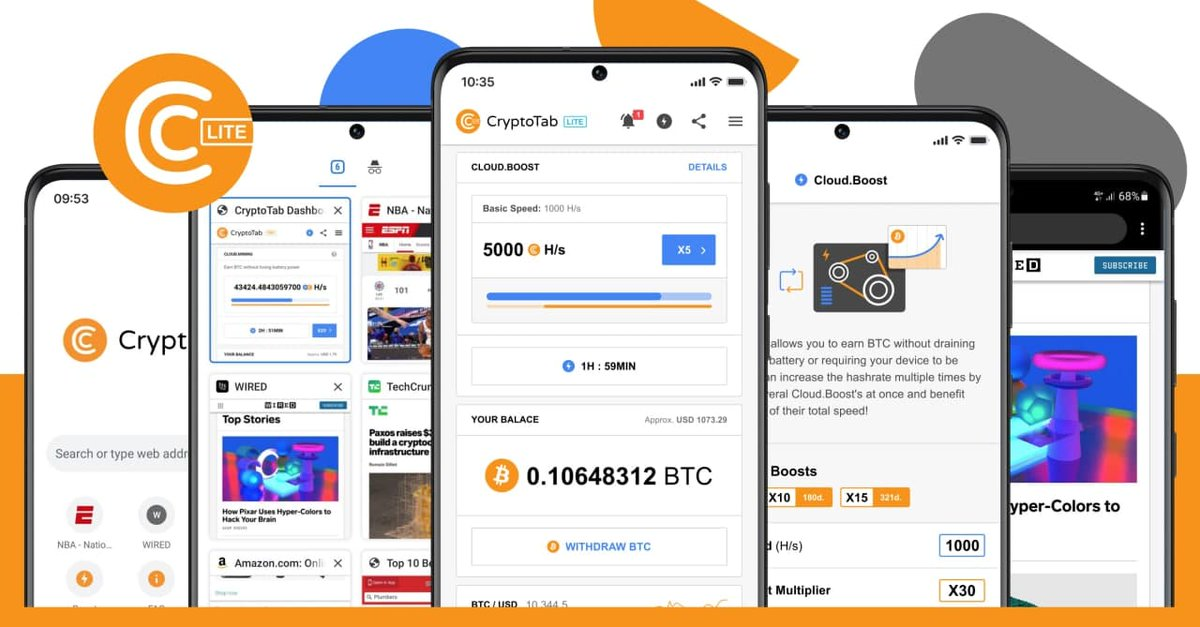 CryptoTab Browser Pro Level