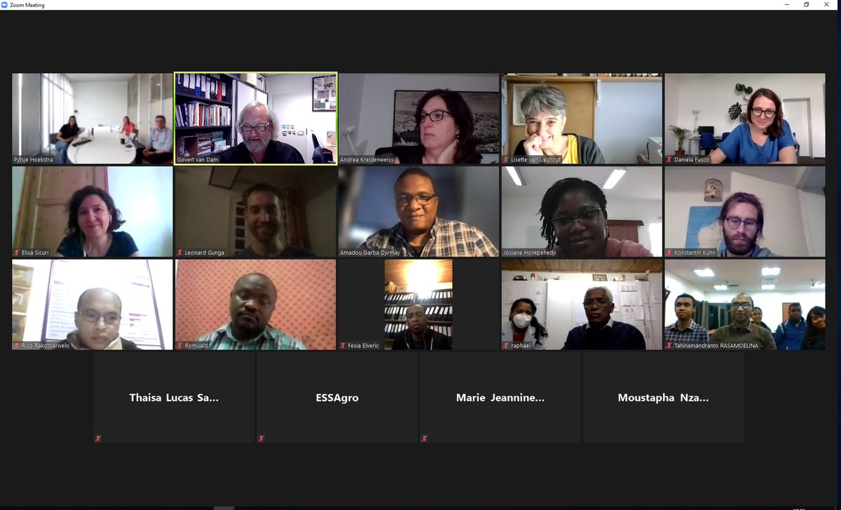 The second and last day of our annual meeting mainly focused on field updates from the trial in Gabon 🇬🇦   Many thanks to all partners for their contributions to this online meeting, hopefully next year F2F again!  @CERMEL_Gabon @BNITM_de @ISGLOBALorg @uni_tue @LUMCPara @EDCTP
